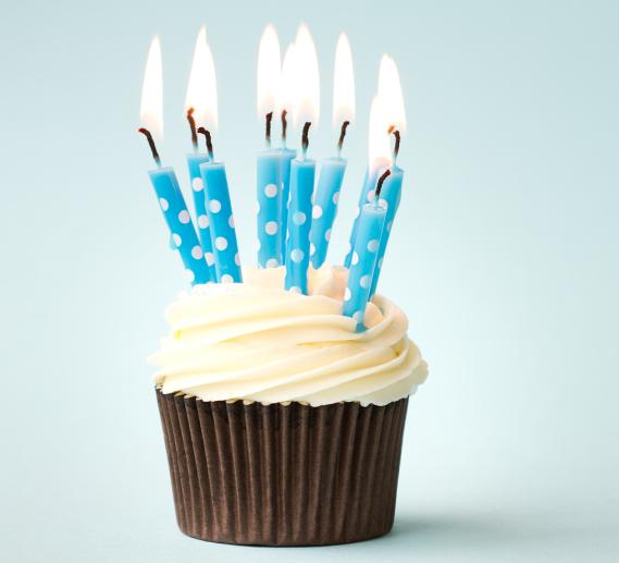 bigstock-Birthday-cupcake-49842404